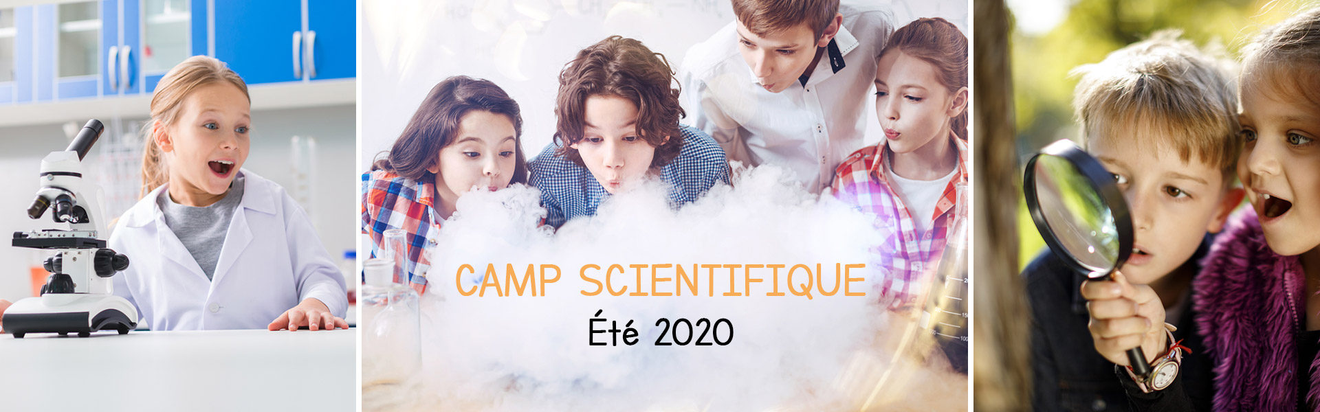 Camps de jour Scientifique